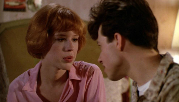 Pretty in Pink: Duckie is no object of Andie's desire