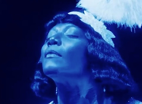 The Empress of the Blues, Bessie Smith. Mood:Indigo